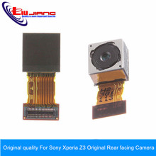 Original quality For Sony Xperia Z3 Compact Mini D5803 Back Camera Original Rear facing Camera Replacement Part free shipping
