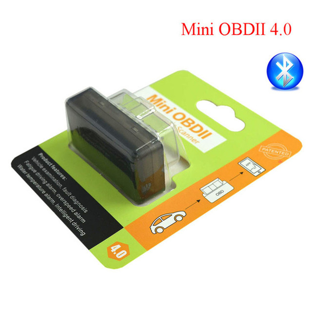 Super Mini ELM327 Bluetooth OBD2 Adapter Auto Scanner obdII Bluetooth 2.0/4.0 ELM 327 V2.1 Support All OBDii protocols