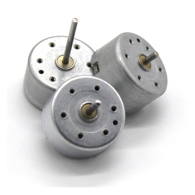 Motor de 1,5 V-6 V CC tipo micro Motor de 300 CC para Panel Solar