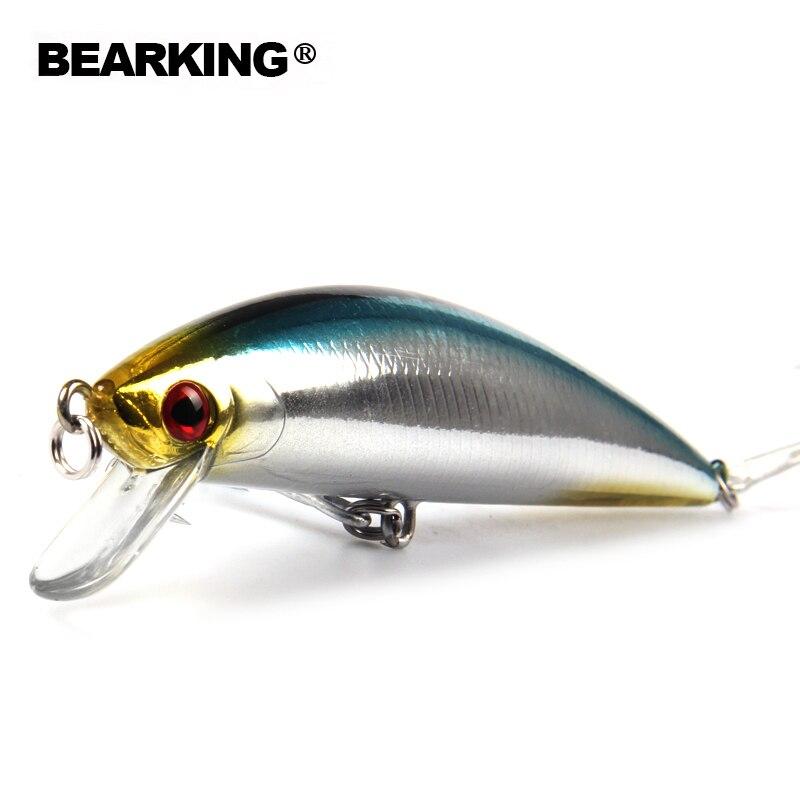 Bearking Bk17-M65 Wobbler Minnow 12 cm 40g 1 PZ Richiamo di Pesca di Profondità di Immersione Profonda Eccellente Esca Dura Lunga Lingua Minnow sinking Lure