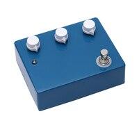 Handmade High Gain Blue Overdrive Pedal Guitarra Ture Bypass Klon Effects Pedal For Musical Instrument Accessories