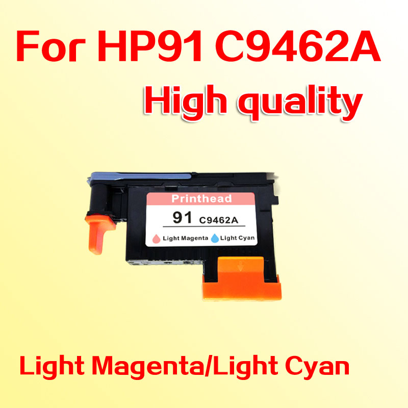 Hight quality printhead for hp91 Designjet Z6100 Z6100P for hp 91 C9462A LM/LC for hp 91 designjet printhead c9460a c9461a c9462a c9463a for hp designjet z6100 z6100ps printer 100% genuine brand new