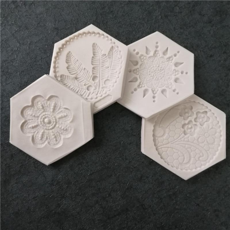 New Mandala Flower Leaf Designer Diy Pot Vase Decoration Moldes Para