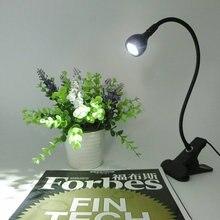 цена на LED Book Light With Clip USB Led Desk Light Flexible Reading Lamp USB Power Supply Table Lamp Reading Book Lamps For Study Work