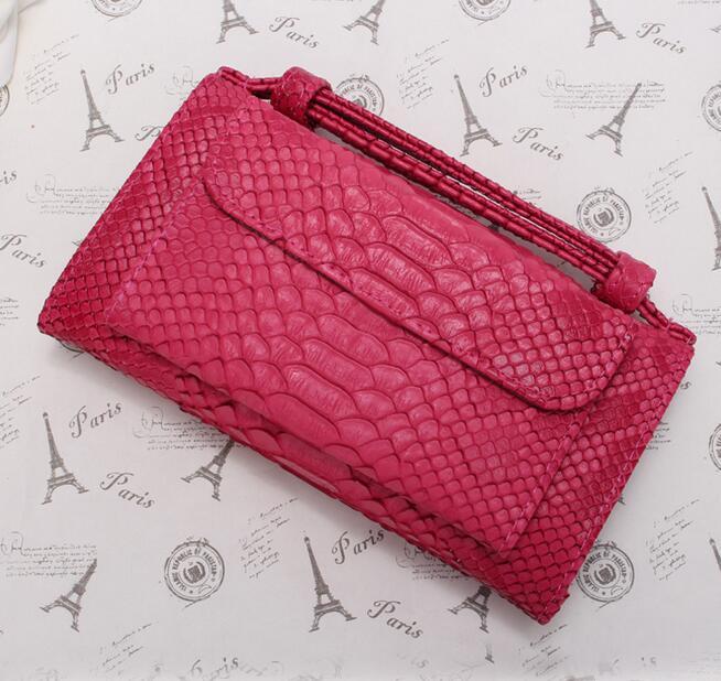 OZUKO новые сумки из натуральной кожи для женщин сумка Роскошные сумки на плечо для женщин дизайнер животных крокодил узор телефон клатч - Цвет: Ярко-розовый