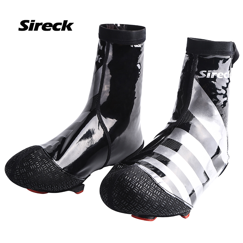 Sireck Winter Warm Cycling Shoe Covers Waterproof Bicycle Overshoes Windproof MTB Bike Shoe Cover Cubrezapatillas Ciclismo 37-42