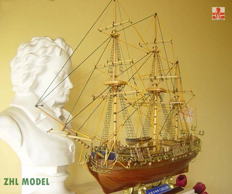 ZHL Royal Caroline 1749 1 50 model ship wood