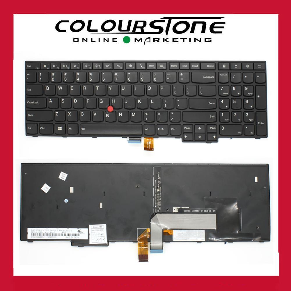 Brand New US laptop keyboard with Frame and Finger Point Stick for Thinkpad E550 E550C E555 Notebook keyboard V147820CS1 laptop keyboard for acer silver without frame bulgaria bu v 121646ck2 bg aezqs100110