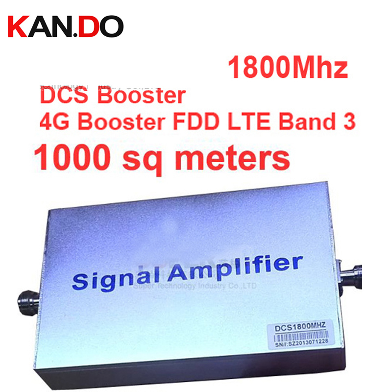 2104 New Model DCS Repeater Gain 55dbi LCD Display Function 1800Mhz DCS Mobile Phone Signal Booster And Repeater