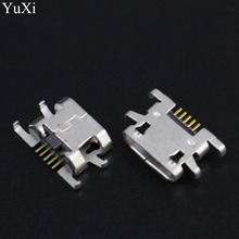10pcs/lot new micro mini USB female Charging Port jack socket Connector replacement repair parts for doogee x5 pro mobile 5pin стоимость