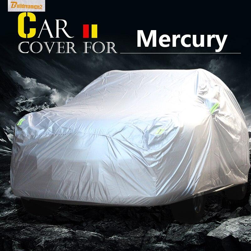 Construcdreamen2 bâche de voiture complète imperméable soleil Anti UV neige pluie couverture résistante pour mercure Montego Mystique traceur Marauder Milan