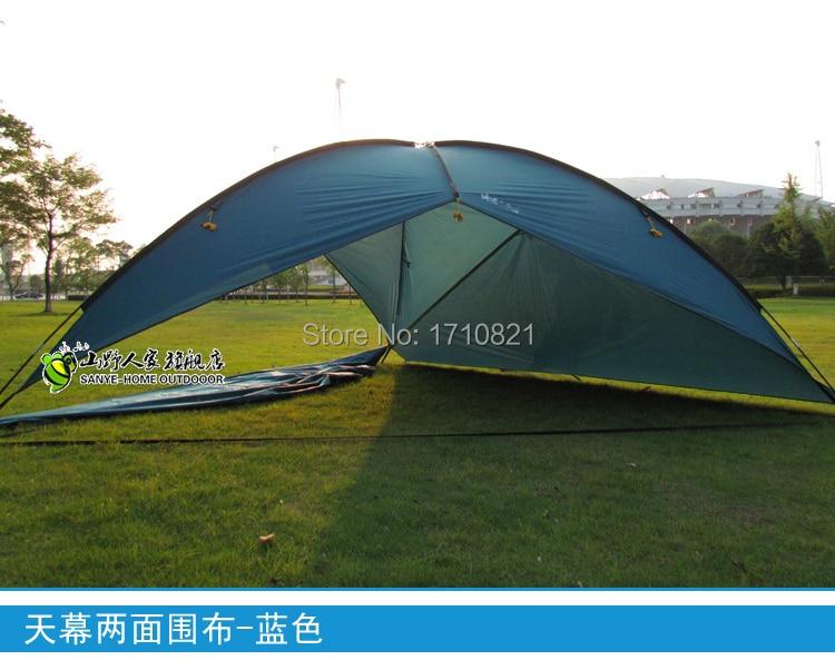 2015 új stílus jó minőségű 480 * 480 * 480 * 200cm nagy tér vízálló ultra könnyű napvédő bivvy napellenző strand sátor