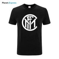 2018 Fashion Summer Men S Printing T Shirt Inter Milan Casual Cotton Loose T Shirt Short