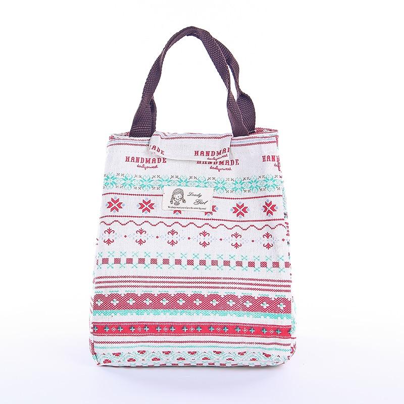 IUX Cute Animal Printed Female Shopping Tote Bag Big Canvas Handbag - Պայուսակներ - Լուսանկար 2