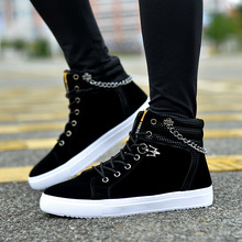 Free Shipping! Fashion 2017 New Summer Men Shoes Casual Beathable Canvas Shoes High Top Flats Lace Up Single Shoes Comfortable
