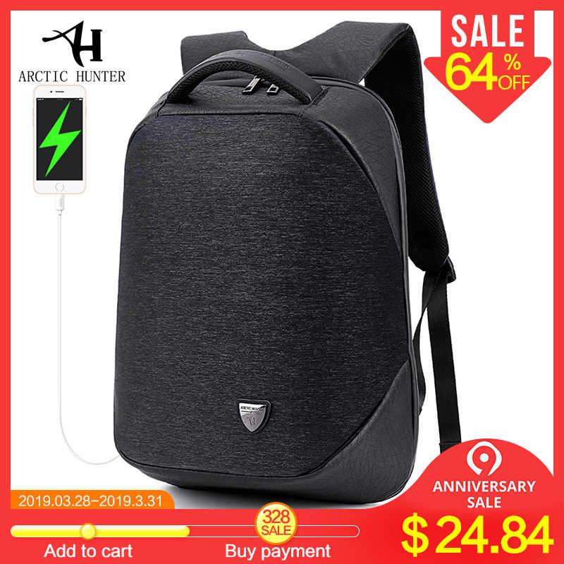 3f16e9b91338 Арктический Охотник школьный рюкзак рюкзаки для мужчин непромокаемые  mochila повседневное бизнес мужской сумка рюкзак