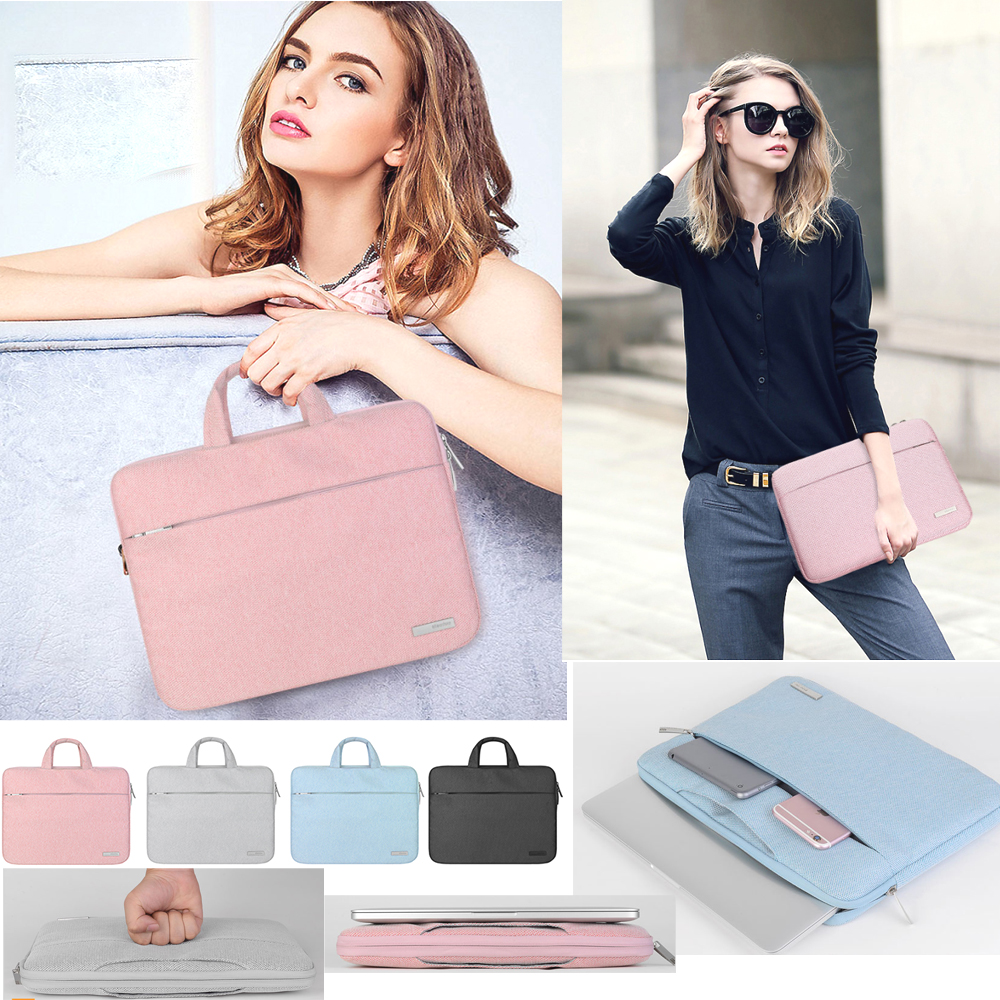 Nylon Fashion Portable Handbag 13 13.3 Inch Laptop Bag Briefcase For Xiaomi Macbook Air Pro Acer Dell Notebook Huawei Matebook