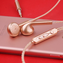 3.5mm Wired Earphone For IOS Android Ear Hook Volume Control Sport Earphone Music Traveling In-Ear earphone For Mobile Phone 1more dynamic driver in ear earphone with microphone control of volume 80% metal diaphragm 1m301 for ios