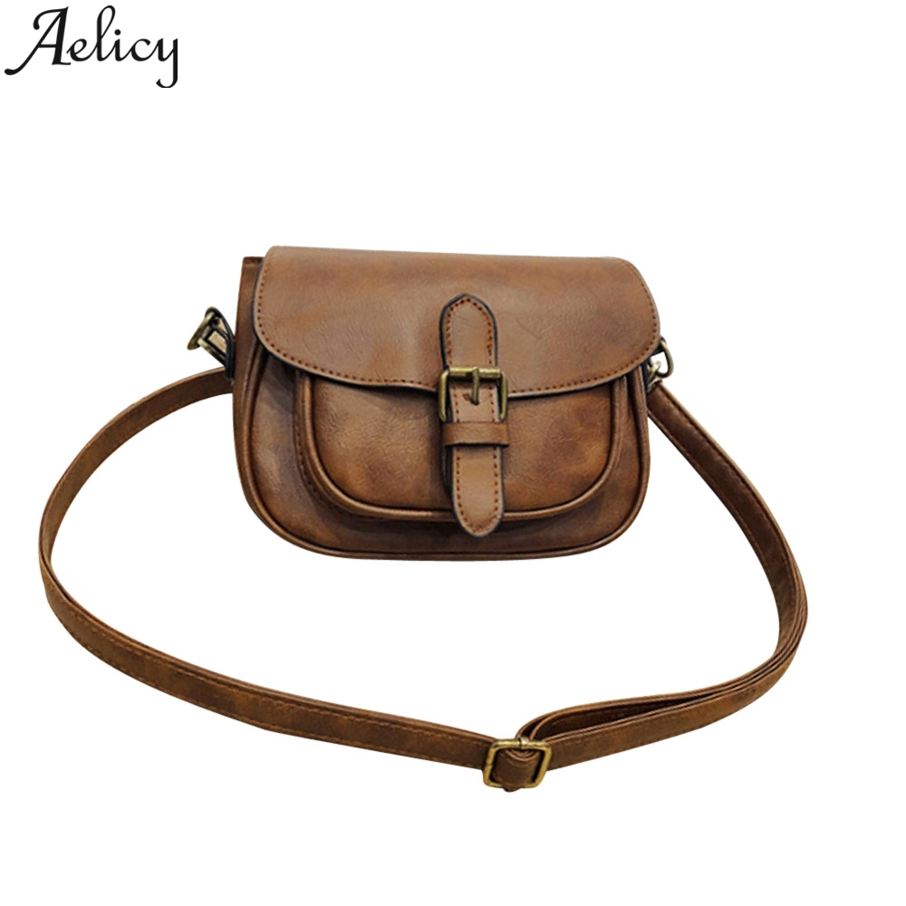 Aelicy 2019 Fashion Ladies Leather Satchel Tote Crossbody Shoulder Bags Clutch Bag For Women Messenger Handbag