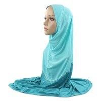 10 Pieces Fashion Pretty Muslim Islamic Islam Women Hijab Scarf Woman Amira Cap Two Ways to Wear Wholesale