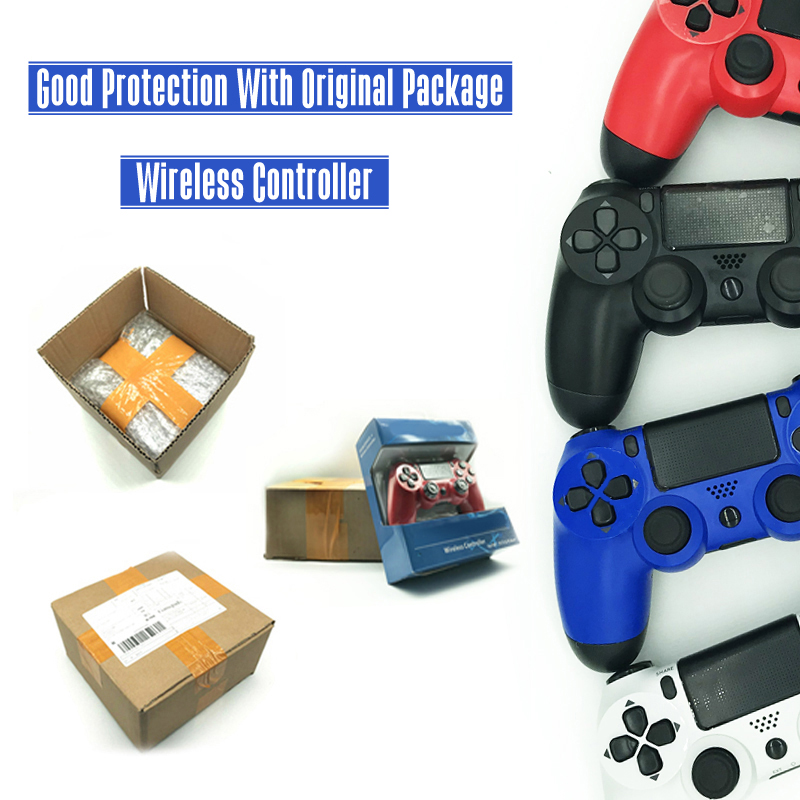 For PS4 Controller Wireless Bluetooth Gamepad Controller for Sony Playstation 4 For Dualshock 4 Joystick Gamepad Wholesale voground new for sony ps4 bluetooth wireless controller for playstation 4 wireless dual shock vibration joystick gamepads