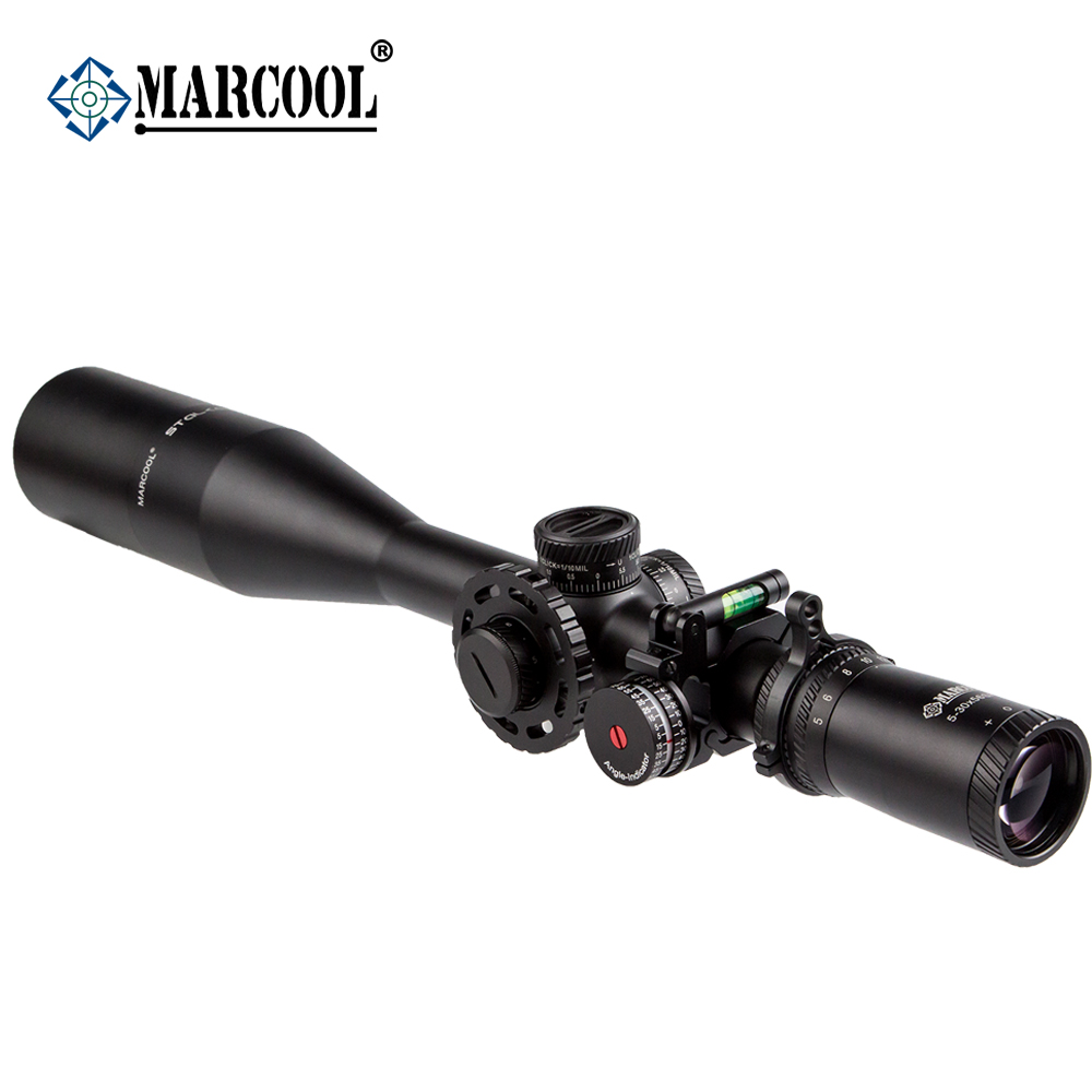 MARCOOL Stalker Hunting Optics 5-30X56 FFP HD Optical Aim Collimator