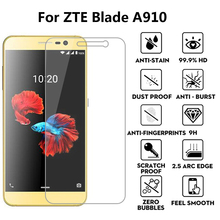 2Pcs Premium Tempered Glass Film For ZTE Blade A910 Guard Protective Ultra Thin 9H Explosion proof For ZTE A 910 5.5 inch