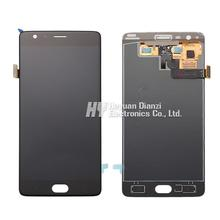 100 Original Lcd Display Touch Screen Digitizer Full Assembly Repair Parts For One Plus 3 Three