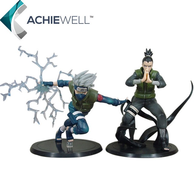 Japanese Anime Naruto Characters Hatake Kakashi Nara Shikamaru Action Figure Fan Collection Cool Model For Children