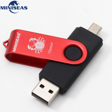 12 constellations USB Flash Drive OTG 128gb 64gb cle usb stick 32gb Pendrive 16gb 8gb 4 gb usb 2.0 memory stick