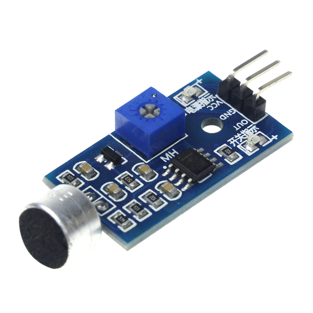 Pin voice sound detection sensor module intelligent smart