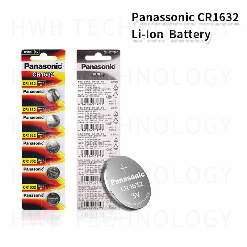 20X PANASONIC CR1632 1632 DL1632 3V литиевые батареи батарея для монет