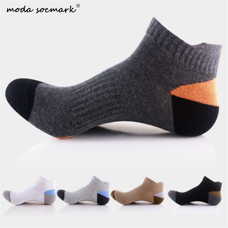 Moda Socmark Professional Sports Socks Unisex Fitness Cycling Running Boat Tennis Summer Soft Sock Sport Men Women Slippers