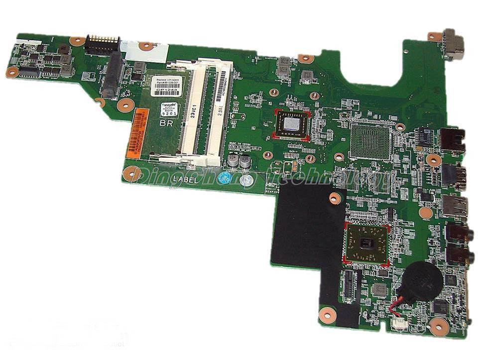 45 days Warranty laptop Motherboard For hp 635 661339-001 for AMD cpu with integrated graphics card 100% tested fully 45 days warranty for hp cq62 g62 610161 001 laptop motherboard for amd cpu with ati hd5430 ddr3 integrated graphics card