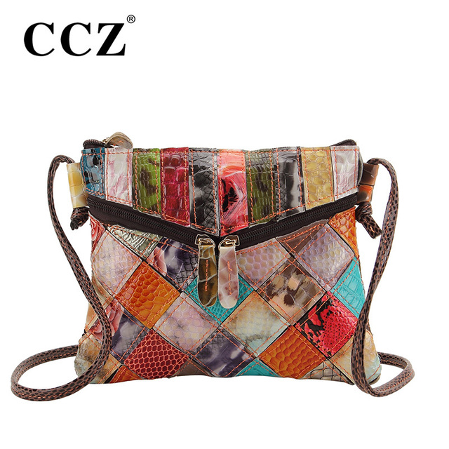 Ccz Snakeskin Women S Shoulder Bags Genuine Leather Crossbody Bag Lady Cross Body Cowhide Las