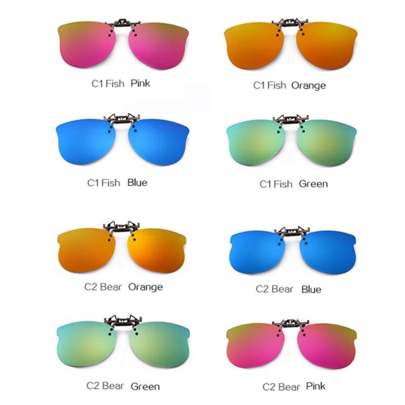 UVLAIK Crianças Polarizada Óculos De Sol Clipe Criança das meninas dos Meninos  Bonitos Crianças Clip sobre Óculos de Miopia Olhos óculos de Sol óculos de  ... 45c53924ab