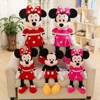 2019 Hot Sale 40 100cm High Quality Stuffed Mickey & Minnie Plush Toy Dolls Birthday Wedding Gifts For Kids Baby Children