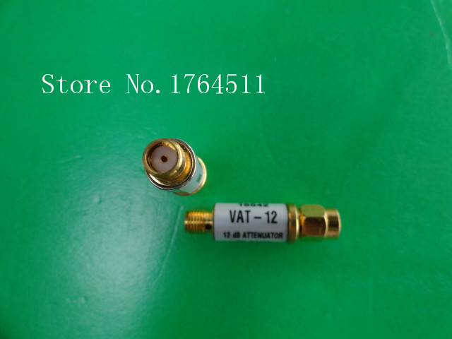[BELLA] The MINI VAT-12 DC-6GHz Att:12dB P:1W SMA Coaxial Fixed Attenuator  --5PCS/LOT