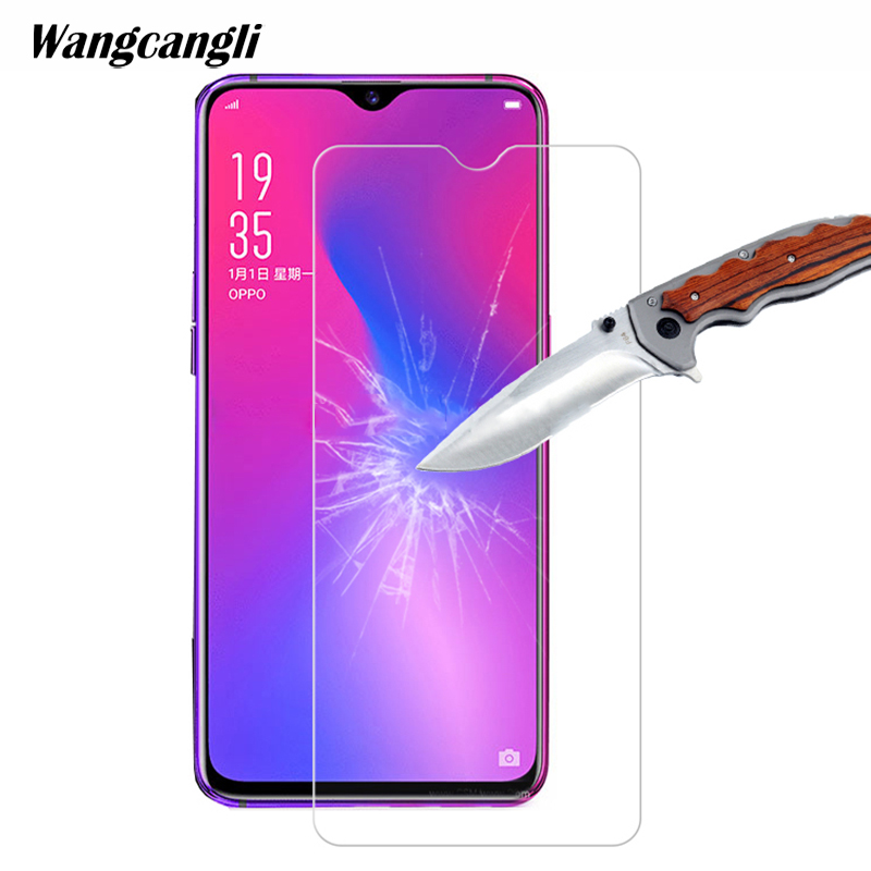 Wangcangli 2.5D tempered glass film for OPPO F9 0.3mm ultra-thin screen protector 9H mobile phone protective glass for OPPO F9
