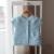 2017 primavera y otoño nuevo estilo de los niños del bebé chaqueta de punto chaleco del suéter de punto jersey de algodón