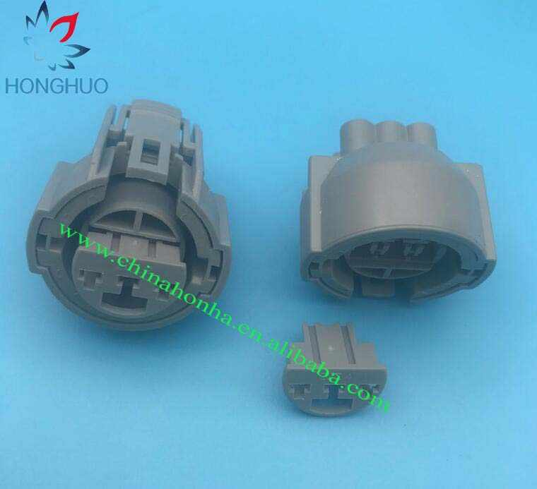 cannon plugs wire harness female 3 pin for b series map tps connector sensor plug for wire  b series map tps connector sensor plug