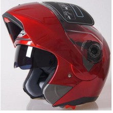 Jiekai with Inner Sun Visor double lens  Motorcycle Helmet  capacete motorcycle Flip Up helmet  men women full face helmet