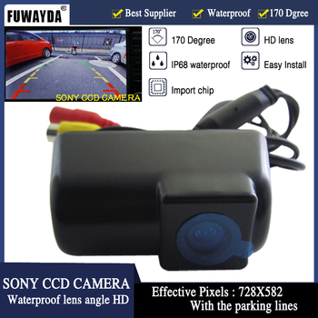 FUWAYDA CAR CCD FOR SONY CHIP Sensor REAR VIEW REVERSE BACKUP PARKING Safety DVD GPS NAV CAMERA FOR FORD TRANSIT CONNECT HD image