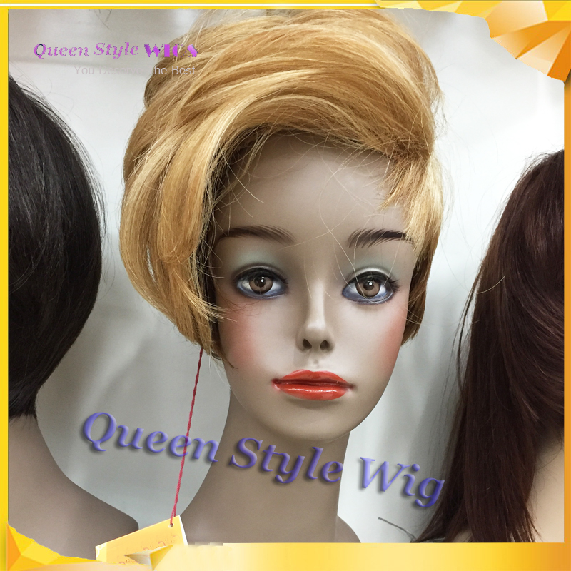 Queen Style Wig Best Quality Japan Kanekalon Fiber Hair Pixie Cut