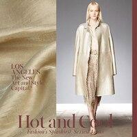 1 Metro Moda Tessuto Rayon FAI DA TE Indumento Panno Tessuto del Vestito In colore Metallico della signora