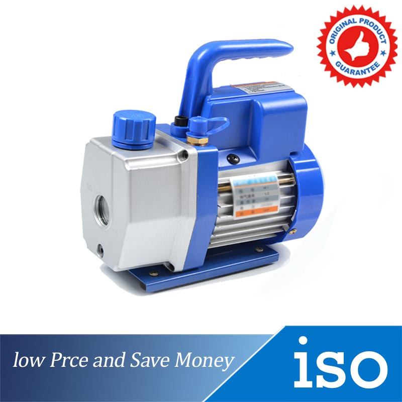 HP-1 Single Stage Small Rotary Vane Vacuum Pump Convenient Maintenance Tools ( oil not able to delivery )