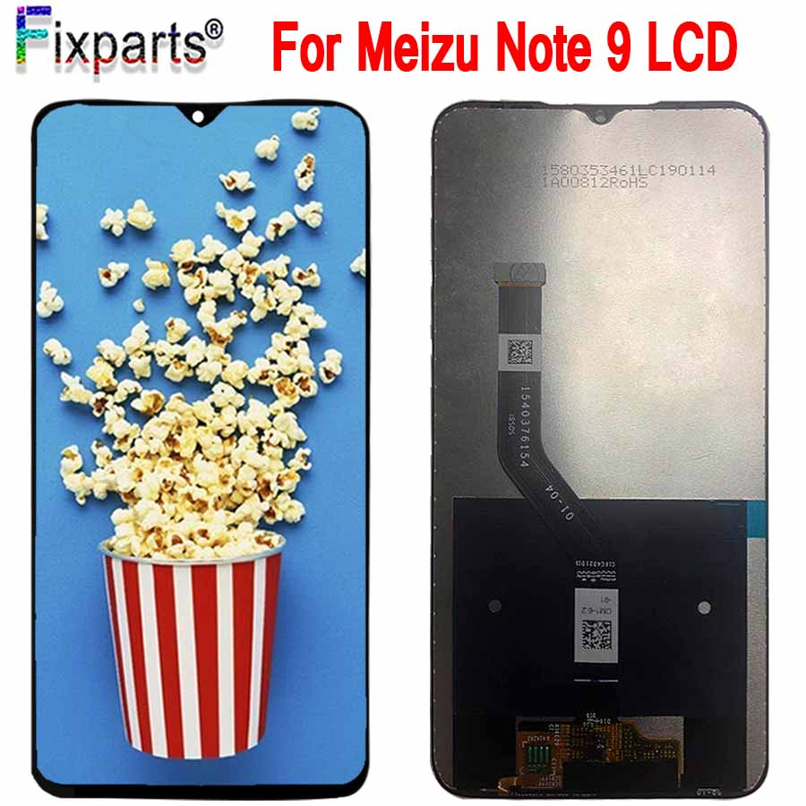 New For Meizu Note 9 LCD Display +Digitizer Touch Screen Glass Replacement Parts For Meizu Note 9 Display Screen Free ShippingNew For Meizu Note 9 LCD Display +Digitizer Touch Screen Glass Replacement Parts For Meizu Note 9 Display Screen Free Shipping