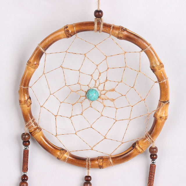 Bamboo Circle Dream Catcher