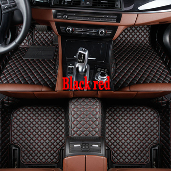 ZHAOYANHUACustom fit car floor mats for Nissan Note LIVINA Rouge X-trail Altima Qashgai Sentra Murano 5D  floor liners