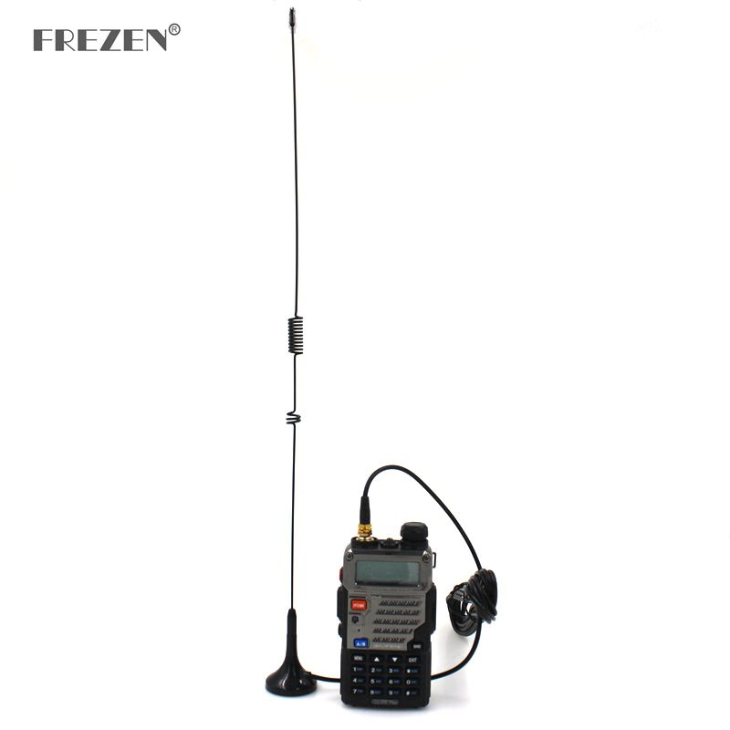 Car Antenna UT-106 SMA-Female Magnetic HF Vehicle Mounted Antenna For Baofeng 888S UV-5R Two Way Radio Walkie Talkie Accessories
